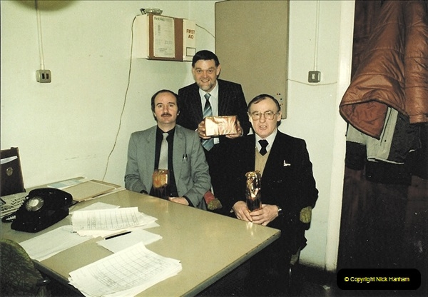 1961 to 2000 Royal Mail mostly Bournemouth & Poole. Your Host & MANY good friends.  (125) 146