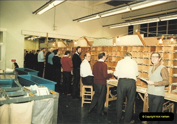 1961 to 2000 Royal Mail mostly Bournemouth & Poole. Your Host & MANY good friends.  (132) 153