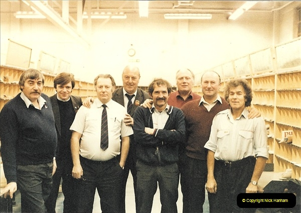 1961 to 2000 Royal Mail mostly Bournemouth & Poole. Your Host & MANY good friends.  (189) 210