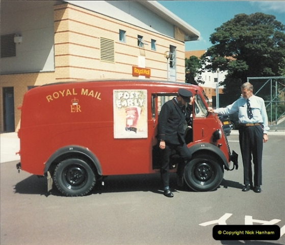 1961 to 2000 Royal Mail mostly Bournemouth & Poole. Your Host & MANY good friends.  (220) 241