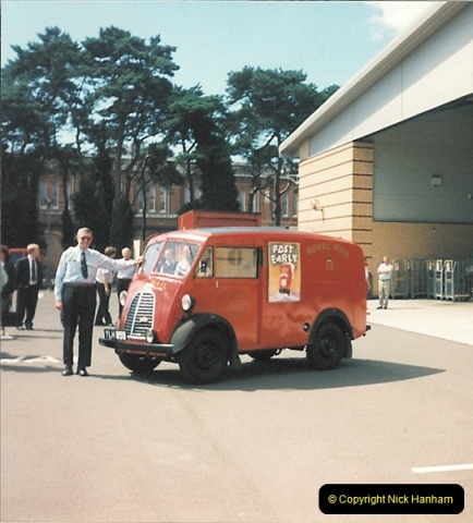 1961 to 2000 Royal Mail mostly Bournemouth & Poole. Your Host & MANY good friends.  (222) 243