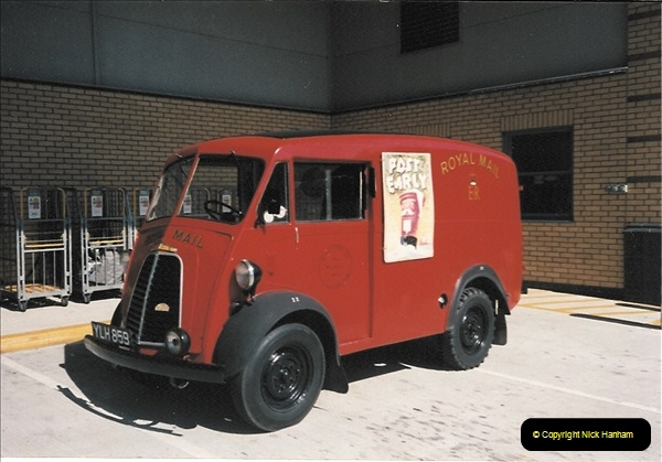 1961 to 2000 Royal Mail mostly Bournemouth & Poole. Your Host & MANY good friends.  (223) 244