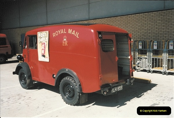 1961 to 2000 Royal Mail mostly Bournemouth & Poole. Your Host & MANY good friends.  (224) 245