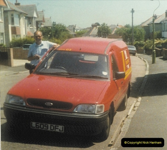 1961 to 2000 Royal Mail mostly Bournemouth & Poole. Your Host & MANY good friends.  (231) 252