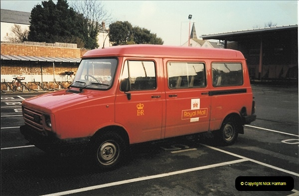 1961 to 2000 Royal Mail mostly Bournemouth & Poole. Your Host & MANY good friends.  (260) 281