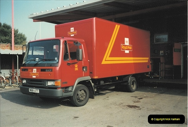 1961 to 2000 Royal Mail mostly Bournemouth & Poole. Your Host & MANY good friends.  (261) 282