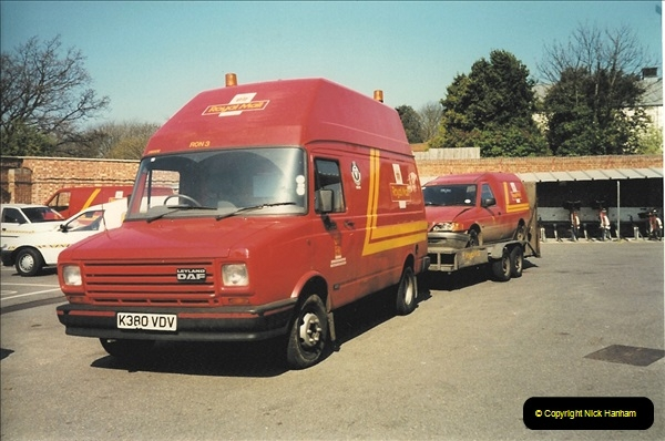 1961 to 2000 Royal Mail mostly Bournemouth & Poole. Your Host & MANY good friends.  (262) 283