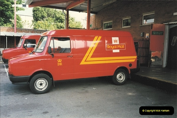 1961 to 2000 Royal Mail mostly Bournemouth & Poole. Your Host & MANY good friends.  (263) 284