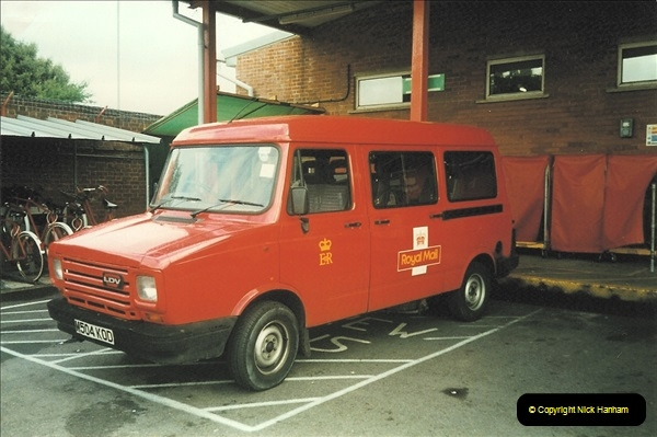 1961 to 2000 Royal Mail mostly Bournemouth & Poole. Your Host & MANY good friends.  (266) 287