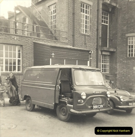 1961 to 2000 Royal Mail mostly Bournemouth & Poole. Your Host & MANY good friends.  (3) 024
