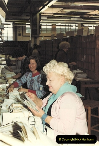 1961 to 2000 Royal Mail mostly Bournemouth & Poole. Your Host & MANY good friends.  (47) 068