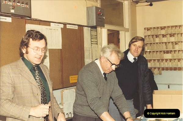 1961 to 2000 Royal Mail mostly Bournemouth & Poole. Your Host & MANY good friends.  (67) 088