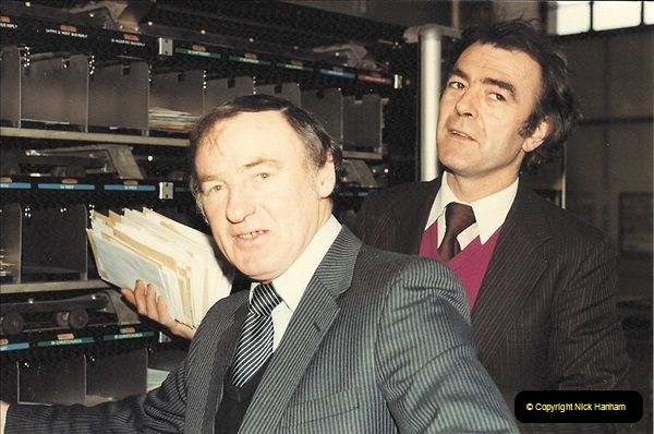 1961 to 2000 Royal Mail mostly Bournemouth & Poole. Your Host & MANY good friends.  (69) 090