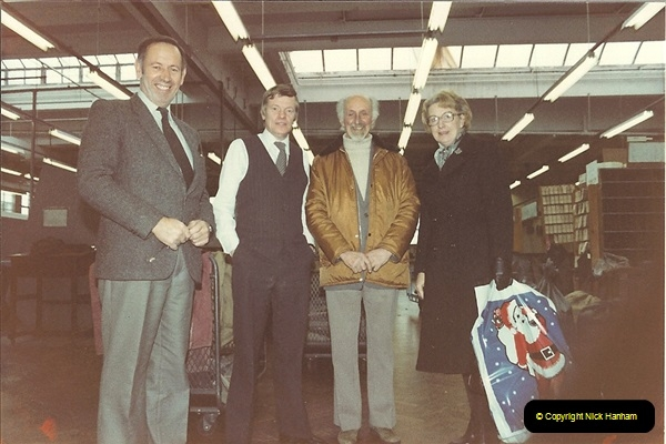 1961 to 2000 Royal Mail mostly Bournemouth & Poole. Your Host & MANY good friends.  (70) 091