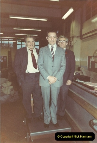 1961 to 2000 Royal Mail mostly Bournemouth & Poole. Your Host & MANY good friends.  (96) 117
