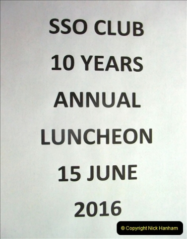 2006 to 2016 The SSO Club 10 Years Old.  (1) 037