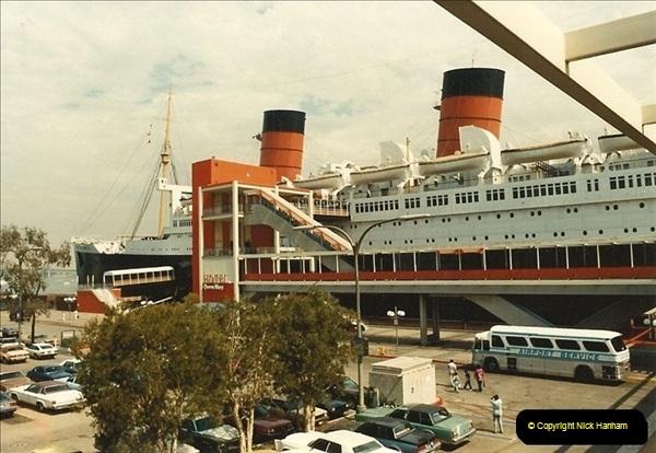 1982-08-15 The Queen Mary @ Long Beach, California, USA.  (1)054