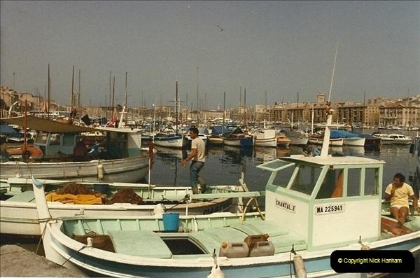 1984-07-14. Marseille, France.  (1)088