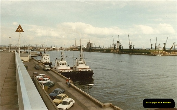 1984 August. Le Havre, France.  (1a)101