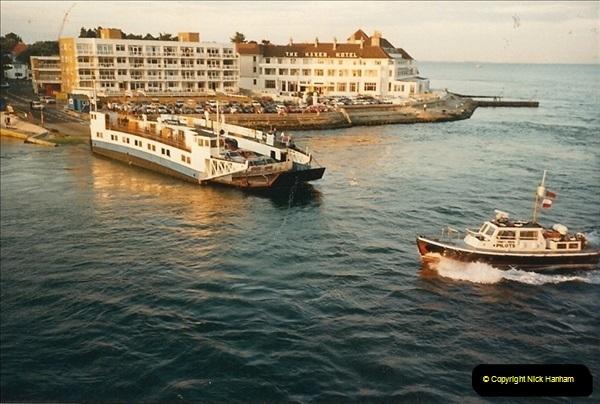 1986-07-27. Poole Harbour, Dorset.  (2)142
