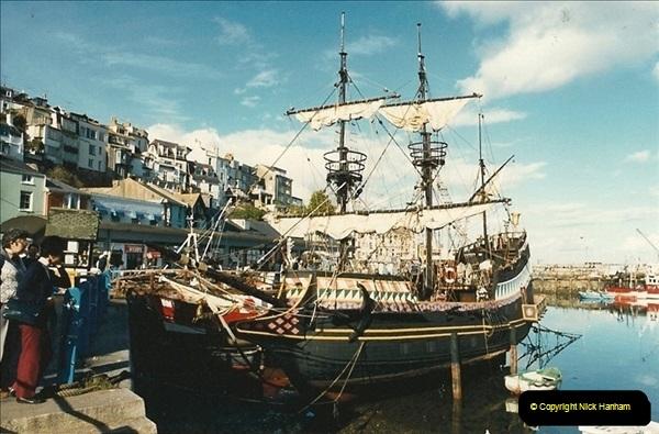 1987-08-27. Brixham, Devon.146