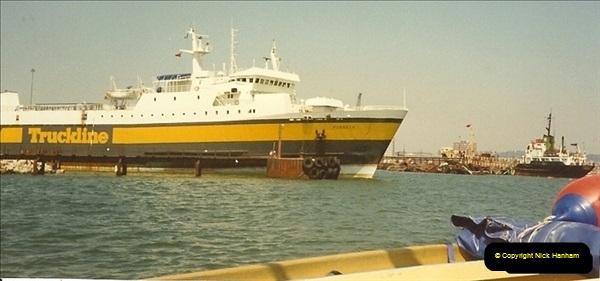 1989-07-07. Poole Quay, Dorset.  (1)171