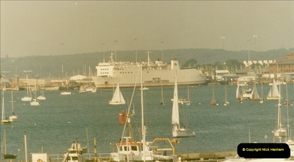 1993-09-04 Poole Harbour, Poole, Dorset.  (11)226