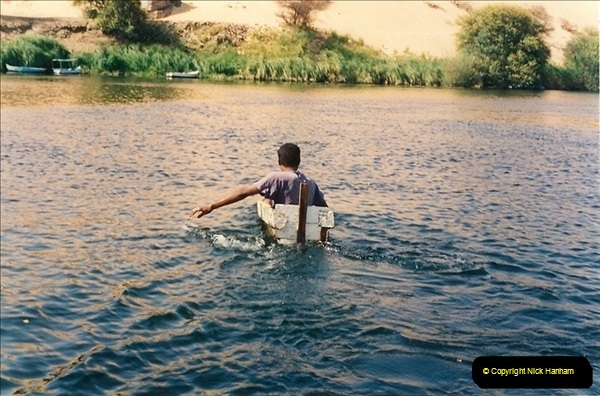 1994-08-08 to 15-08. Luxor, The Nile & Aswan, Egypt.  (10)246