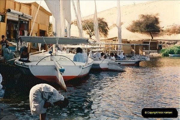 1994-08-08 to 15-08. Luxor, The Nile & Aswan, Egypt.  (9)245
