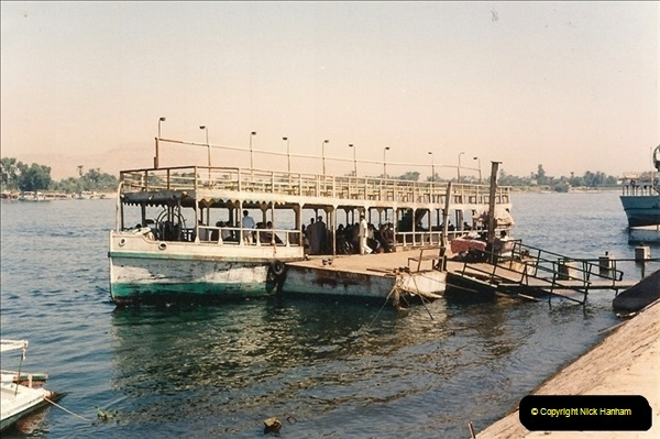 1994-08-08 to 15-08. Luxor & The Nile, Egypt.  (3)235