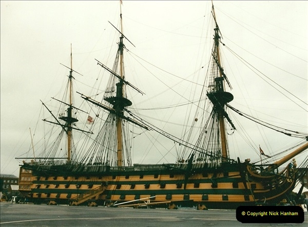 1996-11-02. HMS Victory, Portsmouth, Hampshire.  (1)349