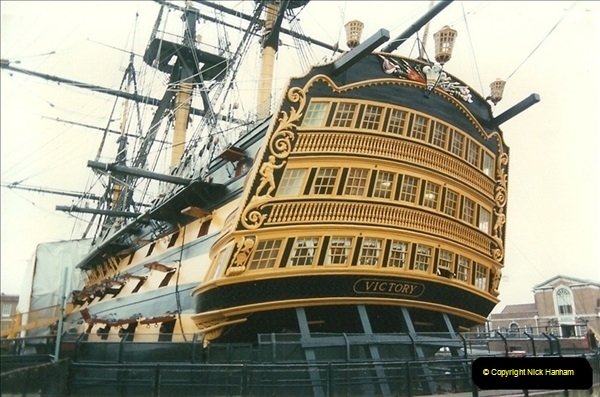 1996-11-02. HMS Victory, Portsmouth, Hampshire. (5)353