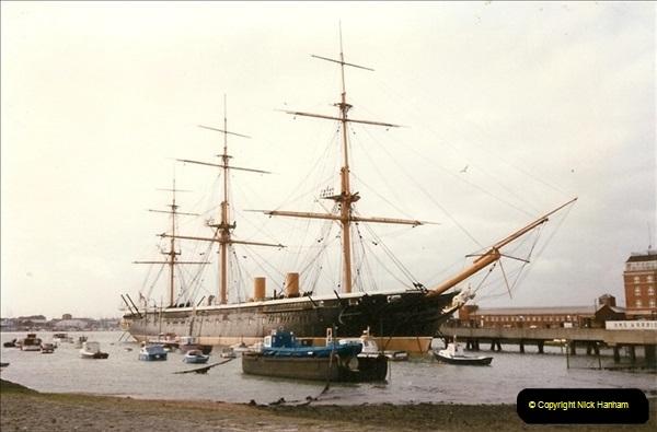 1996-11-02. HMS Warrior Portsmouth, Hampshire. (1)359