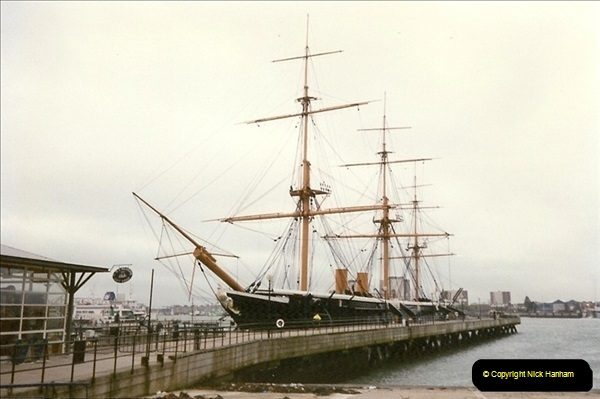 1996-11-02. HMS Warrior Portsmouth, Hampshire. (2)360