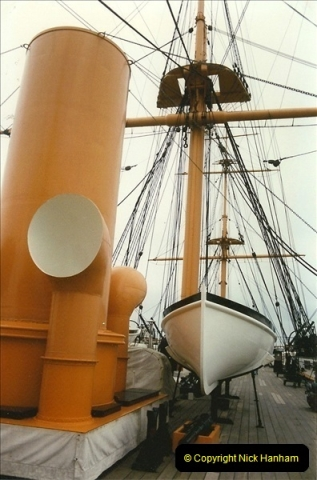 1996-11-02. HMS Warrior Portsmouth, Hampshire. (7)365