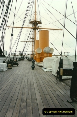 1996-11-02. HMS Warrior Portsmouth, Hampshire. (8)366