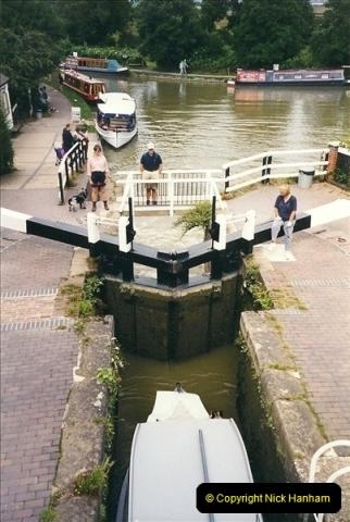 1999-08-13. Foxton Locks, Near Market Harborough, Leics.  (5)475