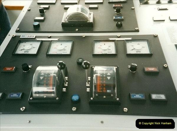 1999-09-18. New Condor Ferries Condor Clipper, Guernsey, CI (5)487