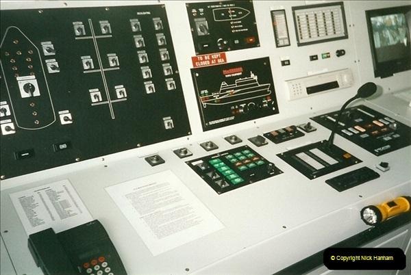 1999-09-18. New Condor Ferries Condor Clipper, Guernsey, CI (6)488