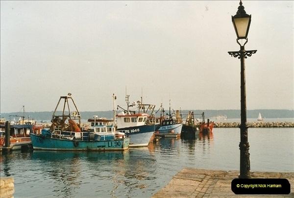 2001-08-14. Poole Quay, Dorset. (1)537
