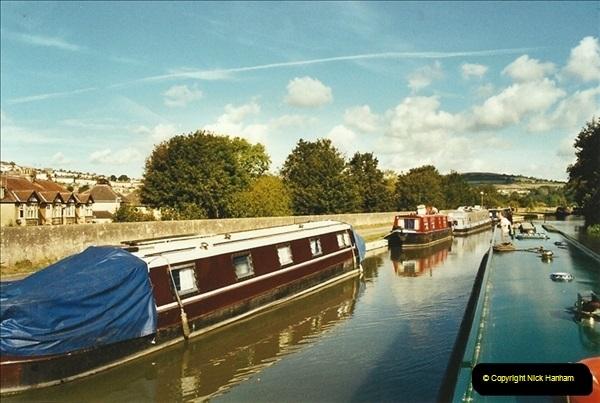 2002-09-28 to 10-04. Kennet & Avon Canal & River Trowbridge to Bristol. (40)656