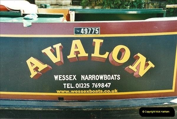 2002-09-28 to 10-04. Kennet & Avon Canal & River Trowbridge to Bristol. (4)620