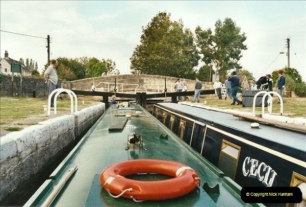 2002-09-28 to 10-04. Kennet & Avon Canal & River Trowbridge to Bristol. (6)622