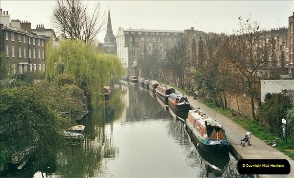 2003-03-29. Regents Canal, Camden, London. (5)673