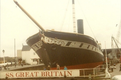 1980 May. The SS Great Britain @ Bristol.  (2)047