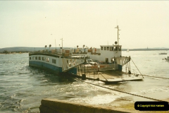 1994 January. Ferry No. 3 last days. The haven, Poole, Dorset.  (2)272