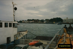 1994 January. Ferry No. 3 last days. The haven, Poole, Dorset.  (4)274