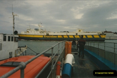 1994 January. Ferry No. 3 last days. The haven, Poole, Dorset.  (6)276