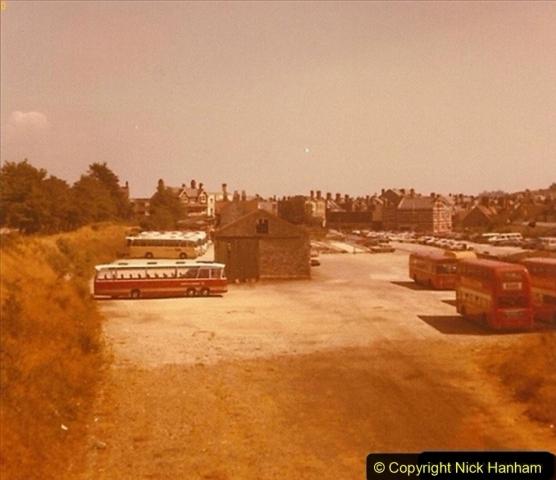 1973 The Swanage Railway.  Demolition of platform etc. Swanage. 002