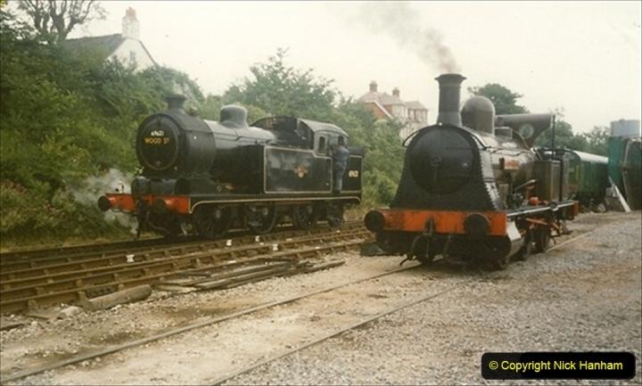 1990-06-14 Bellerphon arrives at Swanage. (1) 114